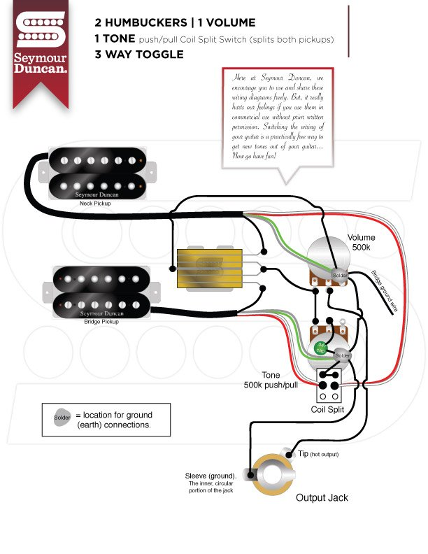 Master Volume and Tone with Coil Split and Dual Caps | My Les Paul Forum | Push Pull Coil Tap Wiring Diagram |  | My Les Paul