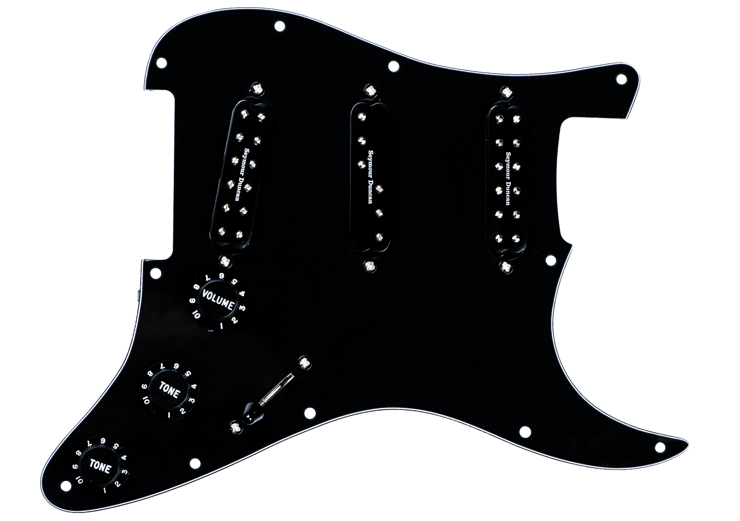 Versatile Stratocaster Pickguard