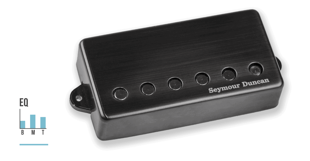 Jeff Loomis' Blackouts active Humbucker with eq graph